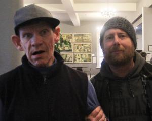 Chris McLeod and Shane Mohring, both of Oamaru.