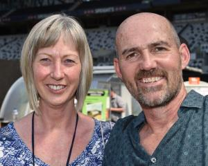 Denise and Chris Hopkins, of Dunedin. PHOTOS: GREGOR  RICHARDSON