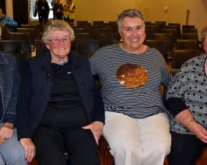 Fiona McKenzie and June Pickles, both of Dunedin, Christine Pegg, of Auckland, and Carolyn...