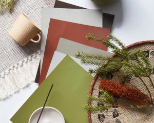 Build an on-trend look with a colour palette centred on a rich olive green like Resene New Leaf....