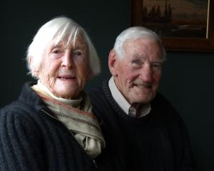 Former Tarras farmers Bill and Frances Gibson, of Cluden Station.