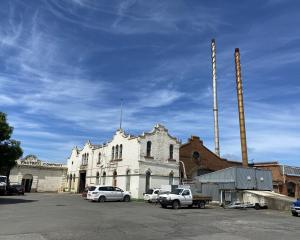 The Mosgiel Woollen Factory Company facade at Mill Park has protected historic status.PHOTOS:...