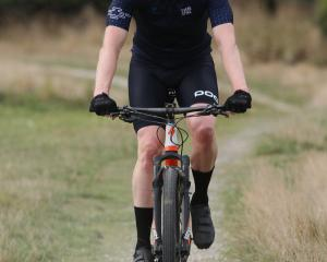 Tapanui GP Fons Captijn had a good day in the saddle, winning the 55km Blue Mountain Challenge...