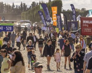 Huge crowds flocked to the South Island Agricultural Field Days last week. PHOTO: SOUTH ISLAND...