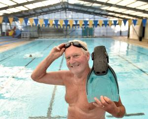Ivan Gamble, of Mosgiel, learned to swim in the Mosgiel Pool, and still goes there  regularly....