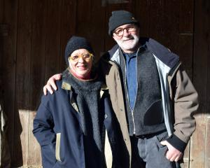 Leafland Simmental owners Everd and Marie Strauss.