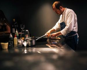 Christchurch chef Giulio Sturga is visiting Dunedin for Dine Dunedin this month. PHOTOs: SUPPLIED