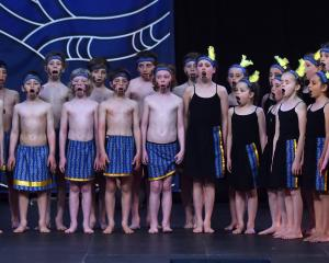 Opoho School kapa haka group gave a 20-minute performance as part of the online-only festival....
