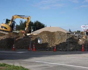 Demolition work at the Glenavy Allied Petroleum fuel stop  means restricted access to fuel for...
