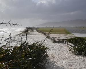 The Cobden coastline. Photo: Greymouth Star