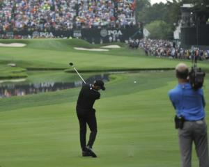 Jimmy Walker in action at the PGA Championship. Photo: Reuters