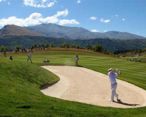 A different view might be expected from the 18th hole at the New Zealand Golf Open next year with...