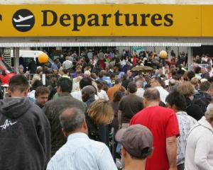About 4700 more New Zealanders left for Australia than arrived in January. Photo by Reuters.