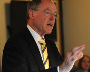 Act New Zealand leader Don Brash. Photo by Peter McIntosh.