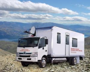An artist's impression of the new mobile command unit, for which North Otago Search and Rescue...