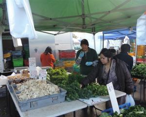 Asian vegetables at Otara market. Photos by Charmian Smith.