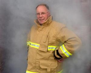Barry Gibson, of Dunedin, puts behind him a 41-year career in the Fire Service, retiring this...