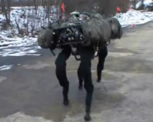 Big Dog, one of the robots Google owns after acquiring Boston Dynamics. Photo YouTube