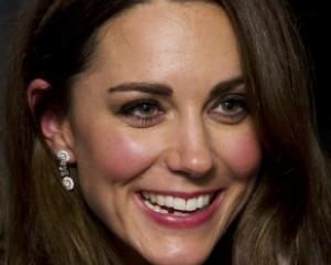 Britain's Catherine, Duchess of Cambridge attends the UK premiere of 'War Horse' on the eve of...
