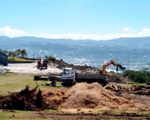 Buildings at the former Rotary Park School have been demolished to make way for a new housing...