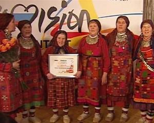 Buranovskiye Babushki,  Russia's entry in this year's Eurovision Song Contest, build up steam....