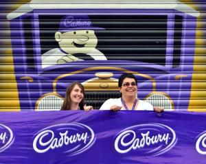 Cadbury World events manager Kylie Ruwhiu-Karawana (right) and events team member Deborah Stuut...