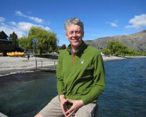 Calum MacLeod, of Wanaka, who was elected on Saturday as one of the two new Wanaka ward...