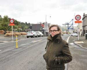 Careys Bay resident Kristine Nicolau is seeking to extend the Port Chalmers 30kmh speed zone and...