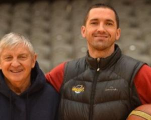 Carl and Mark Dickel have teamed up at the Otago Nuggets 16 years after they last helped the...