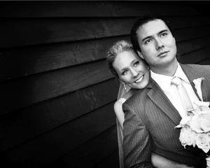Casey Witaker and Kong-Ja Scorgie who were married at Grandview Gardens, Outram, in April. Photo...