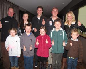 Celebrating the recent launch of a  Wanaka Ski and Snow Sports Club initiative to promote snow...