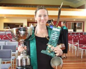 Chloe Sheehan (22), of Auckland, graduated with distinction from Telford's new Certificate for...