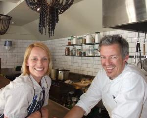 Chop Shop Food Merchants owners Fiona and Chris Whiting, who opened their cafe/restaurant in the...