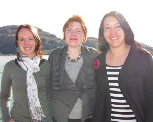 Concerned mothers (from left) Emily Dennison, Kate Smith and Melissa Vining are urging  Wakatipu...