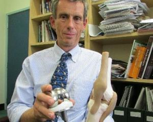 Consultant orthopaedic surgeon Associate Prof David Gwynne-Jones is concerned a ''tsunami'' of...