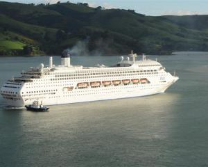 Cruise ship Dawn Princess.