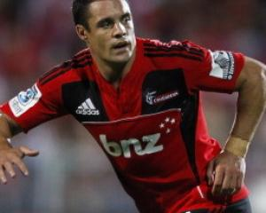 Dan Carter will start at second five for the Crusaders against the Stormers in Christchurch on...