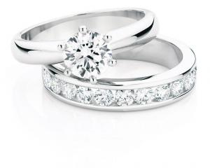 Canadian Fire diamond rings from Daniels Showcase Jewellers.