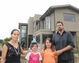 Deborah Wai Kapohe, her husband Michael Beazley and their two children are 'living in a student...