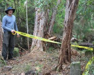 Dr Matthew Schmidt, New Zealand Historic Places Trust regional archaeologist (Otago/Southland),...