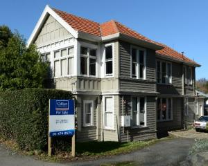 Dunedin boarding house, Alva House in upper High St, is for sale. PHOTO: GERARD O'BRIEN