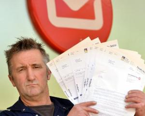Dunedin businessman Lawrie Forbes is angry with the Otago Regional Council and New Zealand Post...
