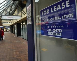 Dunedin's mayoral candidates say 'for lease' signs in shop windows reflect the story of tough...
