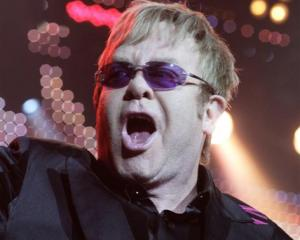 Elton John in concert earlier this month. Photo by Reuters.