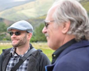 Enjoying their trip to New Zealand last year are (from left) Marx Food chief executive Justin and...