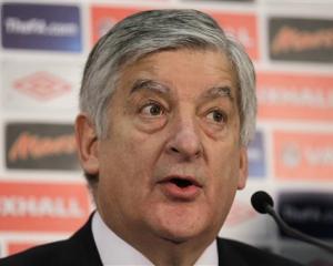 FA chairman David Bernstein. Photo AP
