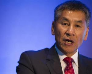 Fletcher Building chief executive Jonathan Ling. Photo by the New Zealand Herald.