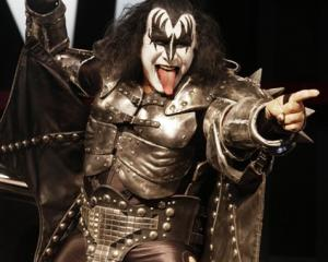 Gene Simmons, bassist for KISS, who have been dropped from the bill of a Michael Jackson tribute...