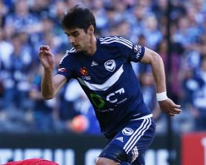 Gui Finkler in action for Melbourne Victory Photo Getty