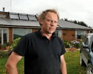 Hagen Bruggemann, of Dunedin, has given up power and gas bills but not the trappings of...